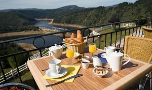 Hotel die panoramische Garabit-Saint Mehl-Terrasse