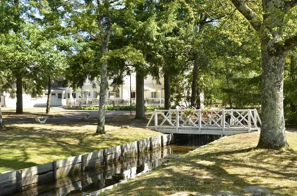 Domaine de Chales - Garten