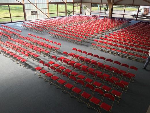 Domaine de Chales - Plenarsaal