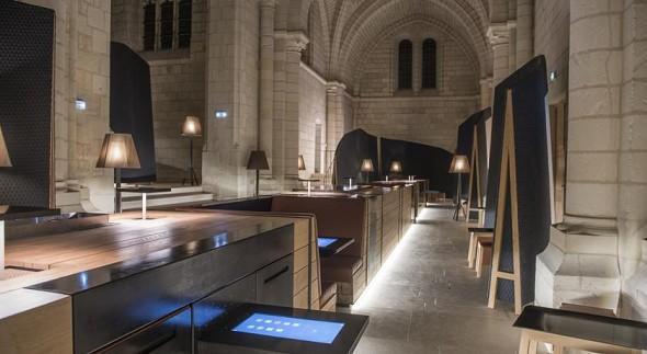 Abadía real de hierro fundido - Interior