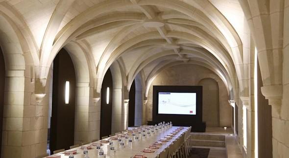 Abadía real de hierro fundido - Sala de reuniones