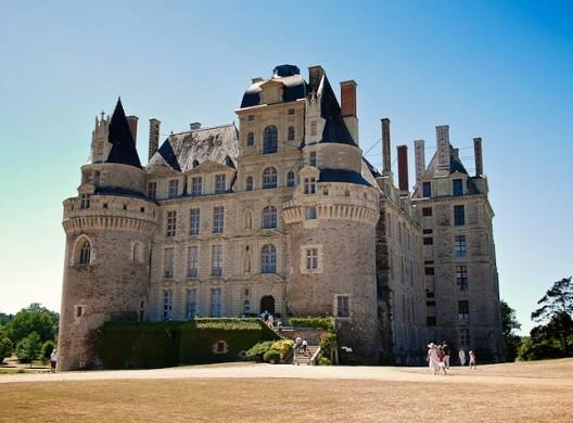 Castello di Brissac - esterno