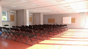 La sala dei seminari