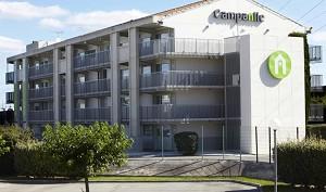 Campanile Montpellier Est Le Millénaire - Fassade dieses 3 Sterne-Hotel