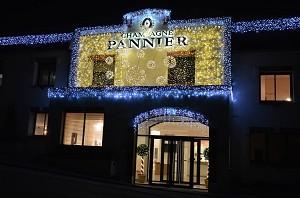 Champagne Pannier - para um chateau thierry edifício da equipe