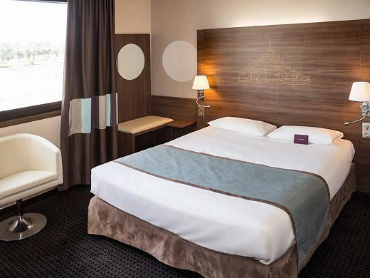 Mercure mont saint michel - chambre single