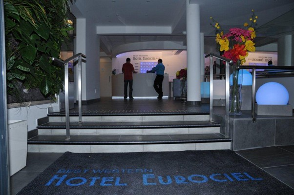 Best western hôtel eurociel - home of this establishment 3 stars