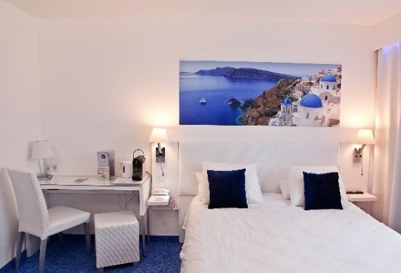 Hotel Best Western Eurociel - sala para seminário residencial