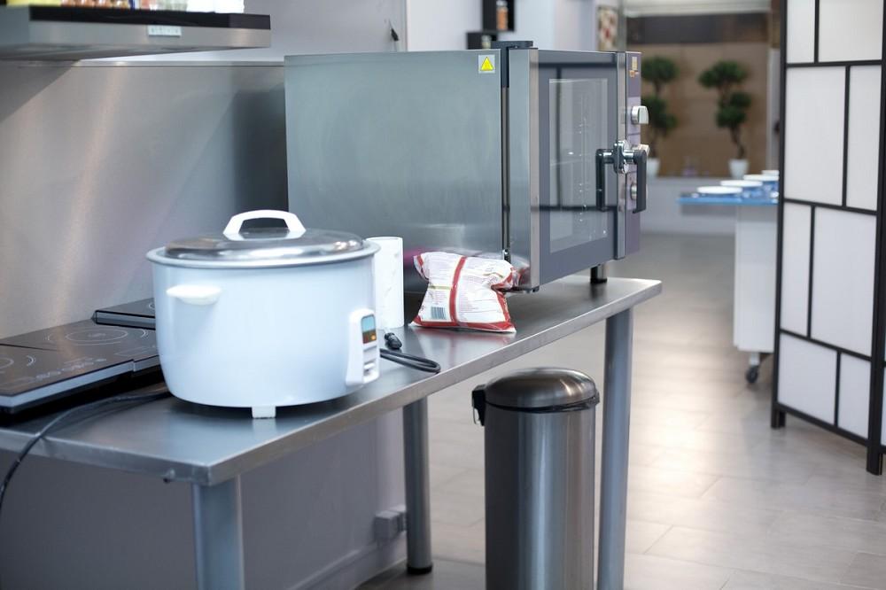 El laboratorio culinario - interior.