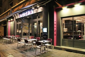 The Victoria Hotel Restaurant Rennes - Terrazza
