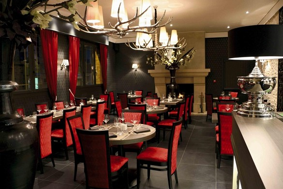 Hotel Place de Aunay-sur-Audon - ristorante