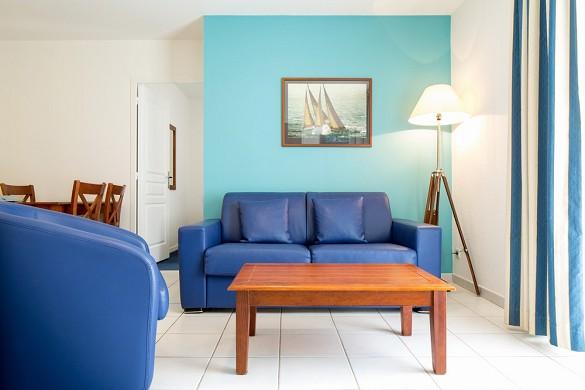 Domaine ker juliette - sala de estar