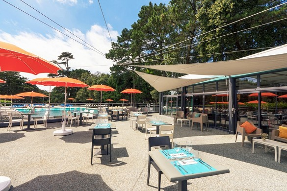 Domaine ker juliette - restaurant terrace