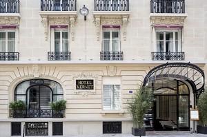 Hotel Vernet Paris Champs Elysées - Hotel outside