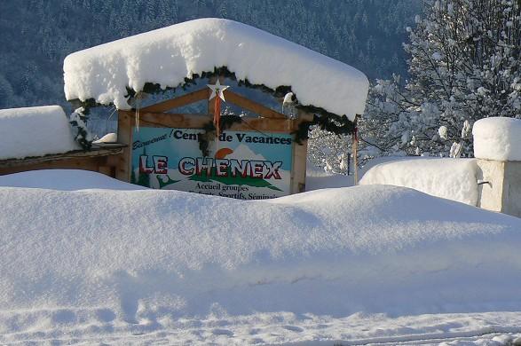 The Chenex - in winter