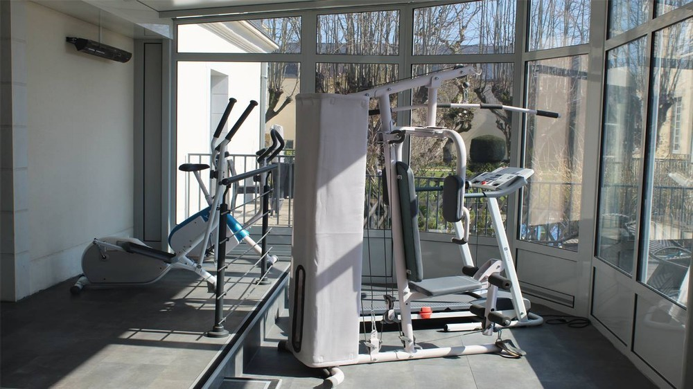 Hotel perignon bignon - the fitness room
