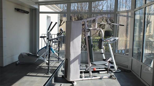 Hotel Perignon Bignon - der Fitnessraum