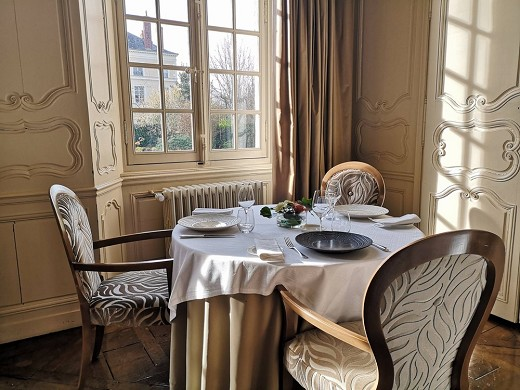 Hotel perignon bignon - das restaurant