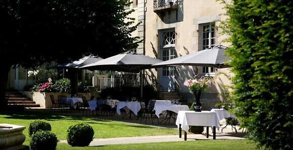 Hotel perignon Bignon - terrace