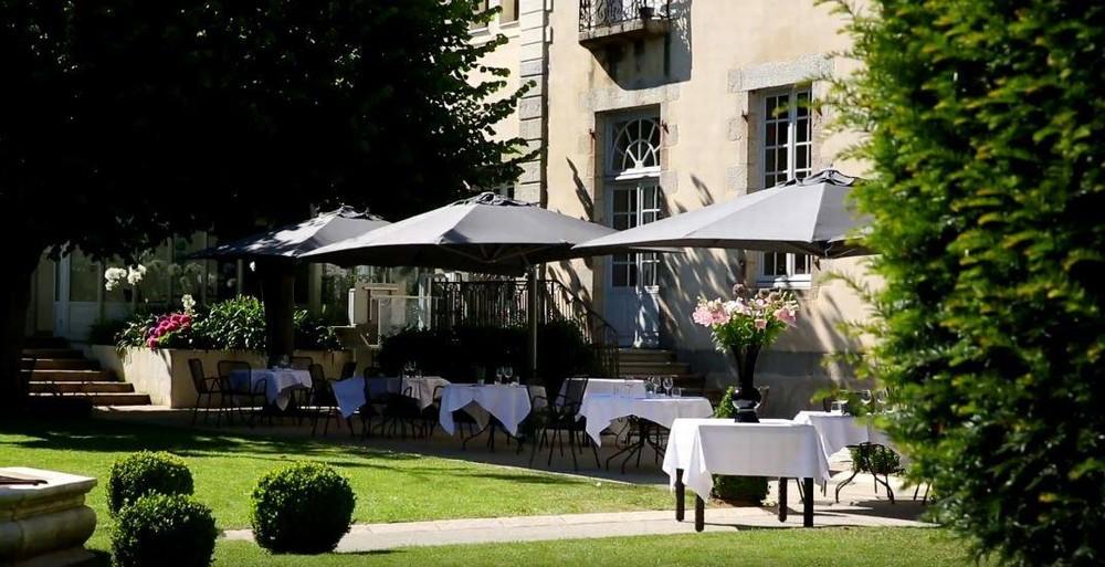 Hotel perignon Bignon - Terrasse
