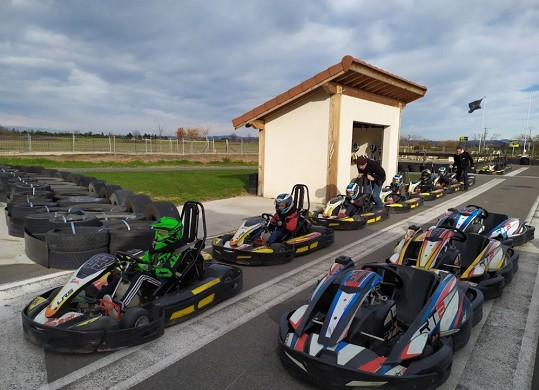Performances drive - karts