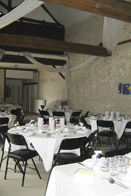 Ferme d'abbonville - tables