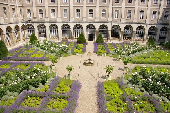 Abbaye des premontres - jardín