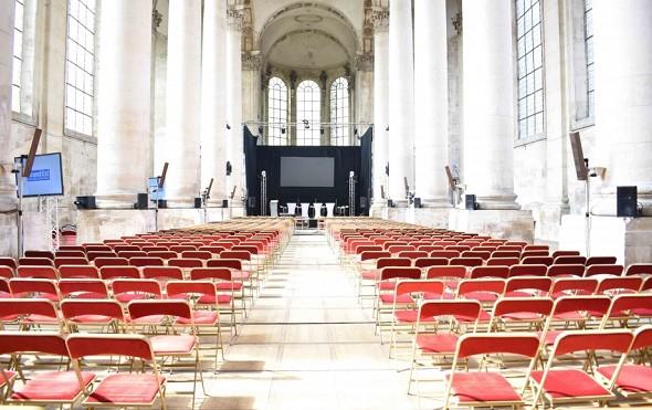 Abbaye des premontres - sala de la abadía