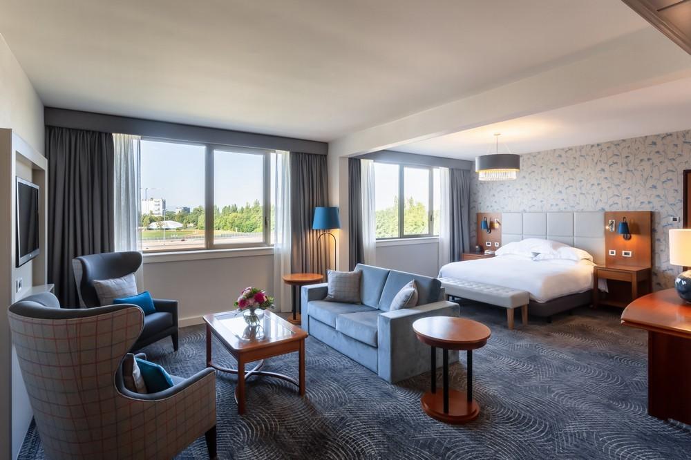 Hilton strasbourg - suite 56m² bright & quiet