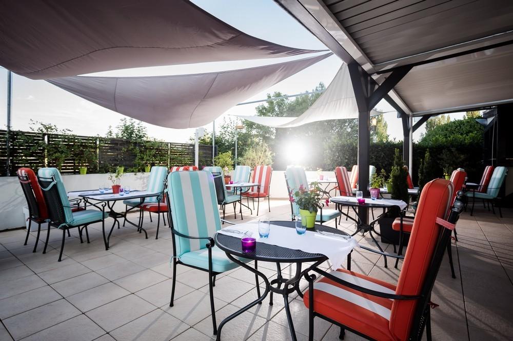 Hilton Strasbourg - sun terrace & privatized