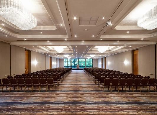 Hilton strasbourg - plenary room, capacity 600 people in theater