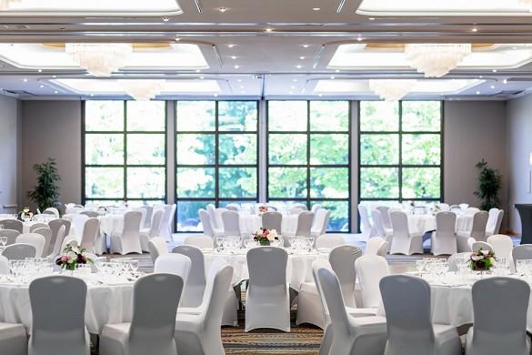 Hilton Strasbourg - Plenary Hall, capacity 400 people in banquet.