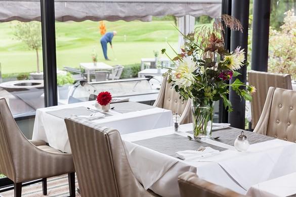 Golf hotel nel castello nel kempferhof - tavoli