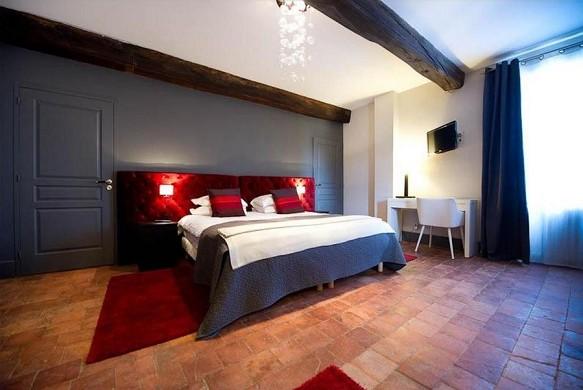 Art'hôtel and spa le potin gourmand - bedroom