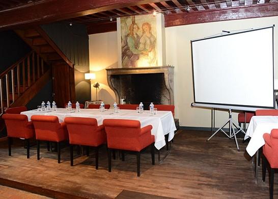 Art'hôtel and spa le potin gourmand - seminar room