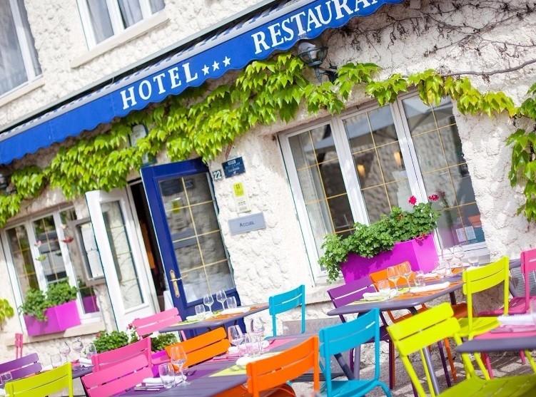Hotel Lake madine - Terraza