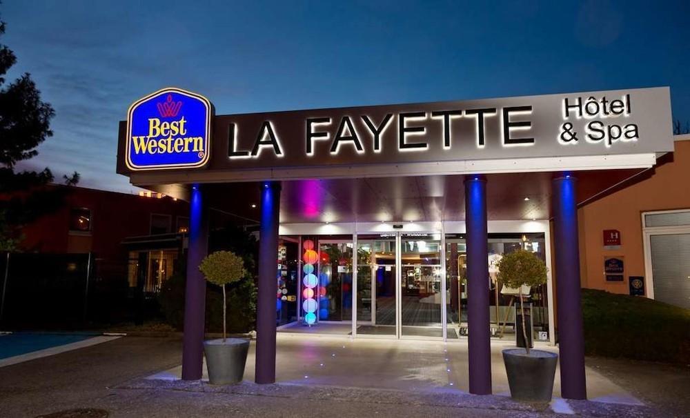 Hotel y spa Best Western Lafayette: recepción del hotel