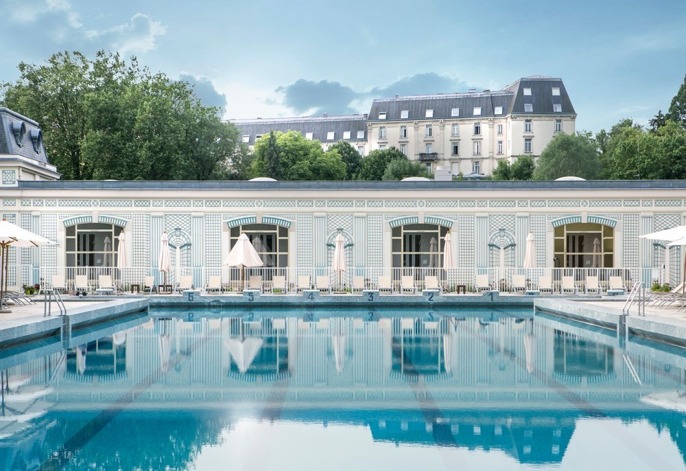 Meetings & events by club med vittel le parc - piscine