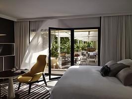 Die Executive Suite mit Terrasse