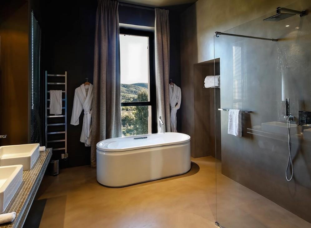 Les lodges sainte victoire salle s minaire aix en for Salle de bain aix en provence