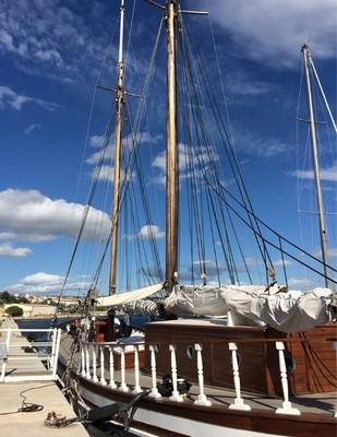 Inga de Riaux - um seminário sobre um barco em Marselha