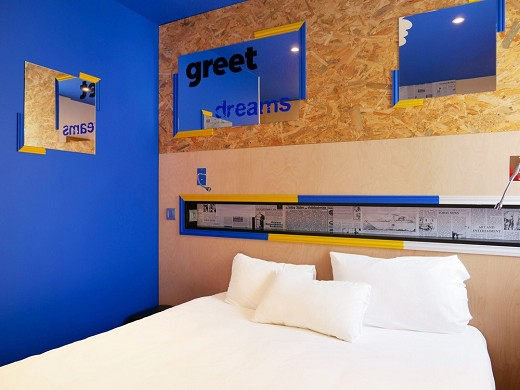 Greet hotel marseille provence airport - room