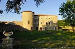 Château du Besset - al di fuori di questo stabilimento ardechois