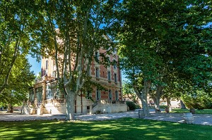 Beaumetane o castelo - seminário de Lancon-Provence