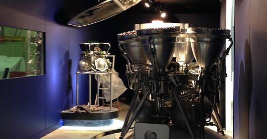 Museo dell'aeronautica e dello spazio dello zafferano - interno