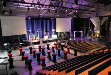 museo zafferano aerospaziale - Louis auditorium e Laurent Seguin