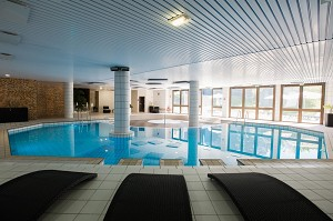 Wellness area: indoor swimming pool, whirlpool bath, hammam, sauna