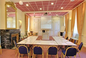 Grand Hotel Thermal Bourbon-Lancy - sala de reunião em Saône-et-Loire