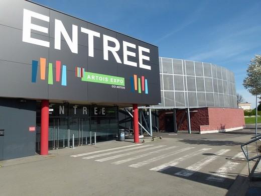 Artois expo - centro de congresos y exposiciones de Arras - recepción del lugar