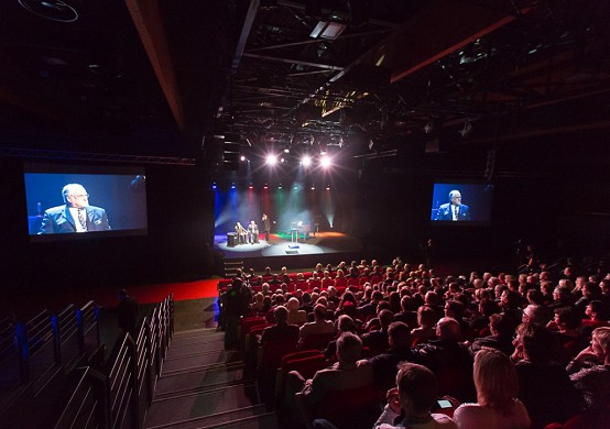 Exposición Artois - Centro de exposiciones y congresos Arras - Vista del auditorio